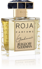 A significantly paler perfume in the photo on the Roja Parfums website.