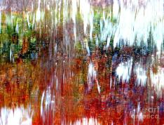 """Water Fountain Abstract 13"" by Ed Weidman on Fine Art America. (Direct website link embedded within.)"