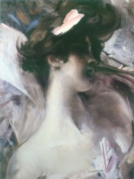 Painting by Giovanni Boldini, 1901, via Pinterest.