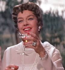 "Rosalind Russell in ""Auntie Mame."" Source: film-actually.com"