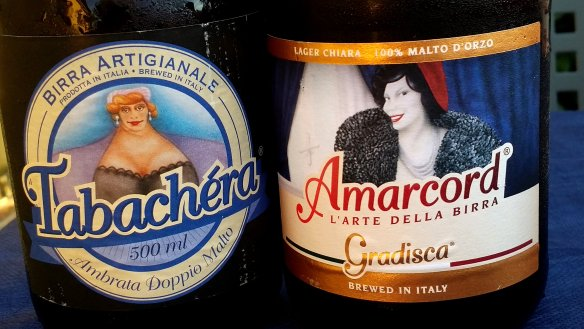 Italian artisinal beer. Photo: my own.