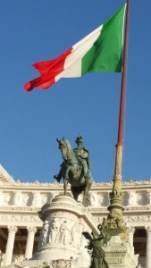 The Victor Emmanuel monument in Rome. Photo: my own.