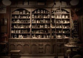 "The apothecary in ""Grimm"" via Pinterest."