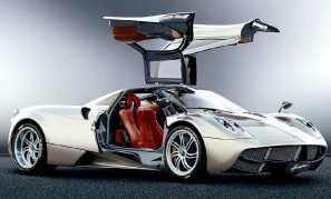 Pagani Huayra Zonda supercar via speedace.info