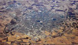 Aerial view of Sidi Bel Abbès in Algeria via en.wikipedia.org
