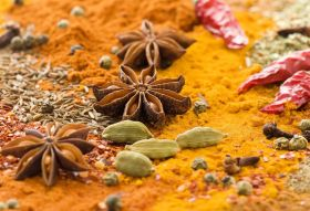 Curry spice blend via hajia.co.uk.