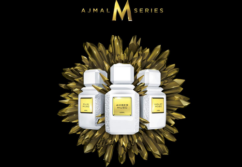 Ajmal M Series, trio of Muscs. Source: Fragrantica