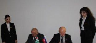 ТПП Абхазии и Чувашии подписали Соглашение о сотрудничестве