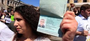 Abducted Azeri journalist's wife rejects Georgian offer