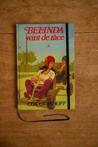 Notitieboek van het kinderboek Belinda wint de race | gemaakt door Kaftwerk.com