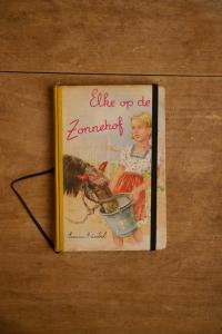 Notitieboek van Elke op de Zonnehof   gemaakt door Kaftwerk.com