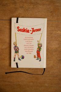 Notitieboek van Saskia en Jeroen uit logeren | gemaakt door Kaftwerk.com