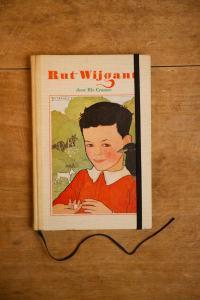 Notitieboek van het kinderboek Rut Wijgant | gemaakt door Kaftwerk.com