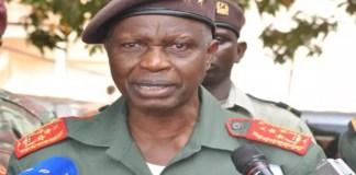 Le Chef d'Etat-major de Guinée-Bissau, le Général Biague Na Ntam
