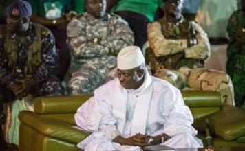 L'ex-président exilé de la Gambie, Yahya Jammeh
