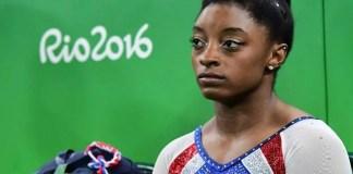 La gymnaste américaine Simon Biles lors des JO de Rio, le 11 août 2016