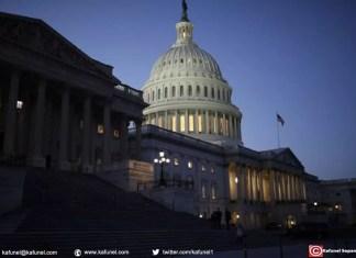 Le Capitole, le 19 janvier 2018 à Washington, où le Sénat a échoué à trouver un compromis pour éviter la fermeture partielle des services fédéraux