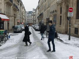 Dans les rues de Paris, jeudi 1er mars