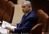 Le Premier ministre israélien Benjamin Netanyahu au Parlement israélien le 12 mars 2018