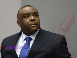 L'ancien vice-président de la République démocratique du Congo, Jean-Pierre bemba, lors d'une audience de la Cour pénale internationale, à la Haye, le 21 juin 2016