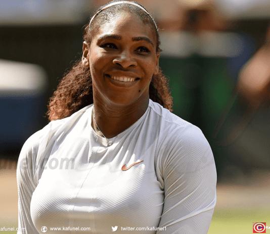 Serena Williams vise un huitième titre à Wimbledon.@ Oli SCARFF / AFP