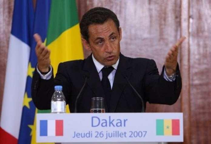 """L'ancien président français avait déclaré sans détours que """"l'Homme africain n'est pas assez entré dans l'Histoire"""""""