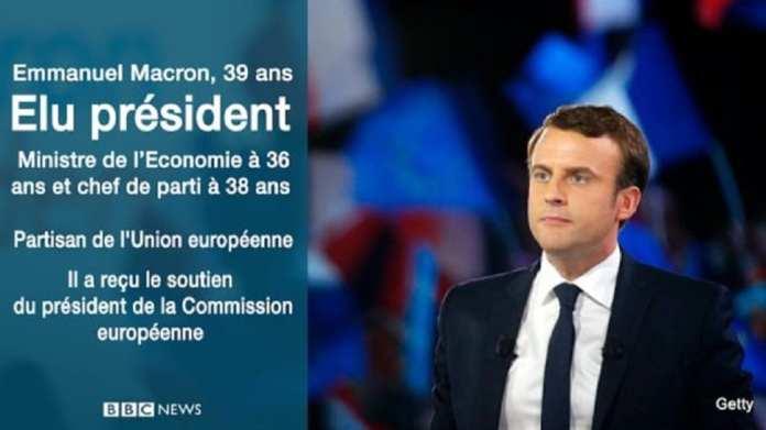 Le nouveau président français