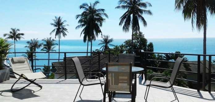 04-Villa Samui (Sud Thailand) vue sur mer