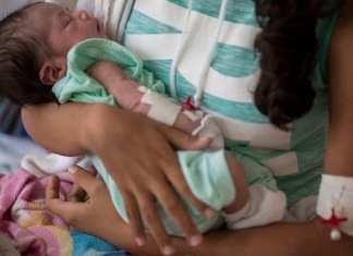Un nouveau-né. ( Photo d'illustration.)