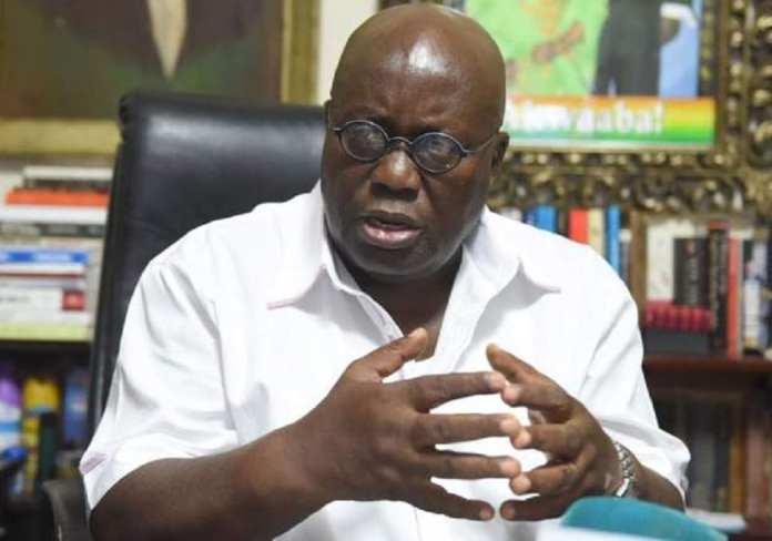 Le président du Ghana, Akuffo-Addo