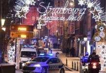La fusillade a eu lieu dans le centre-ville de Strasbourg, à proximité immédiate du marché de Noël. © FREDERICK FLORIN / AFP