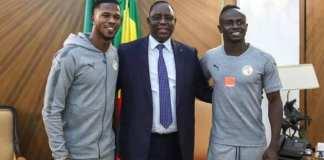 Sadio Mané et Keïta Baldé reçus par Macky
