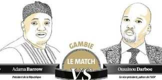 Gambie : La bataille entre Adama Barrow et Ousainou Darboe s'intensifie