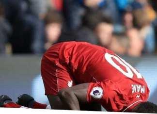 Sadio Mané élu joueur du mois en Premier League