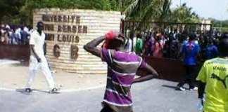 Vandalisme à l'Ugb : Ces lourdes sanctions réclamées conte les étudiants fautifs