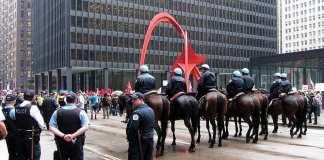 Manifestation du 1er mai à Chicago (2012)