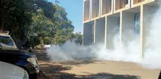 La police a tiré des gaz lacrymogènes au siège du principal parti d'opposition, le parti du congrès du Malawi, cette semaine