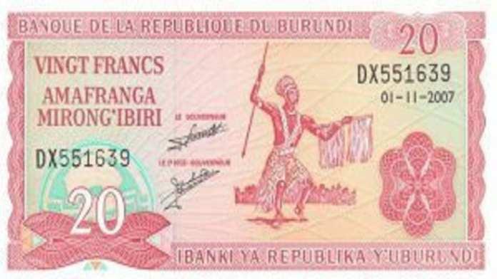 Burundian-Franc-