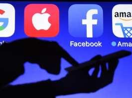 Le ministère de la Justice a lancé une vaste enquête sur les pratiques anticoncurrentielles des plateformes en ligne, réseaux sociaux, moteurs de recherche ou sites de commerce américains. Damien MEYER / AFP