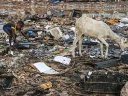 Agbogbloshie, dans la banlieue d'Accra, est la plus vaste décharge de déchets électroniques au monde. Flickr/Fairphone/CC BY-NC 2.0