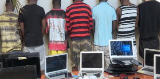 Cybercriminalité : 6 Nigérians arrêtés à Mbao par la Section de Recherches