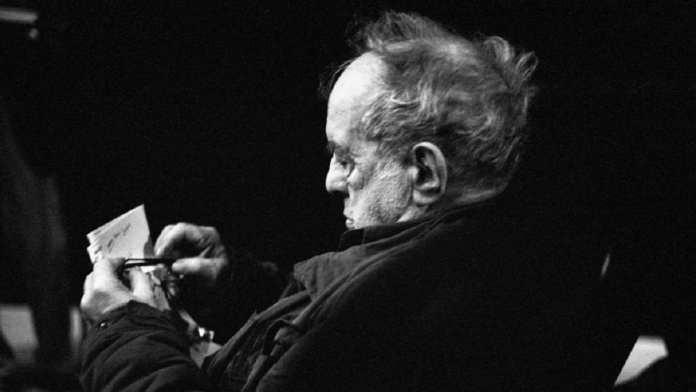 Le photographe américain Robert Frank, décédé le 10 septembre 2019.