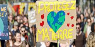 Environnement--climat--manifestation