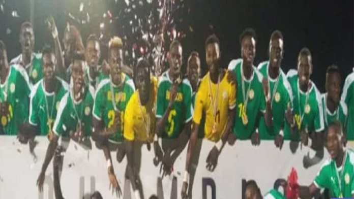 Sénégal sacré Champion de WAFU CUP 2019
