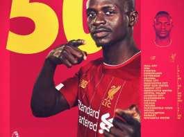 Sadio Mané a inscrit son 50e but de la league champion