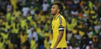 Le Gabonais Pierre-Emerick Aubameyang lors de la CAN 2017. RFI / Pierre René-Worms