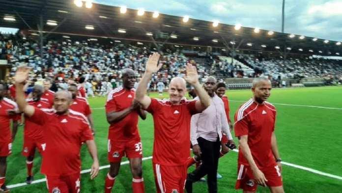 Le président de la Fifa, Infantino, très actif au 80e anniversaire du TP Mazembe