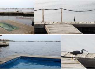 """Une île flottante """"made in Abidjan"""" conçue avec des bouteilles plastiques – Le voyage du Calao"""