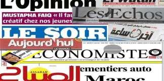 Revue de presse-Maroc-Presse_du18-11-2019