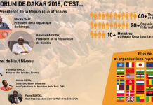 Forum International de Dakar 2018 en chiffres © Forum de Dakar